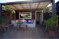 Diepe zonnige tuin Patio, Outdoor Decor, Home Decor, Decoration Home, Room Decor, Home Interior Design, Home Decoration, Terrace, Interior Design