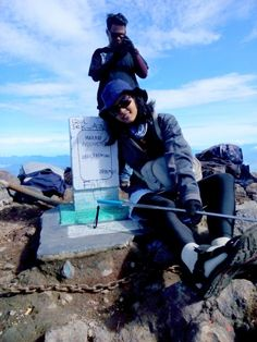 Tugu Abel Tasman - Mt.Marapi 2891Mdpl