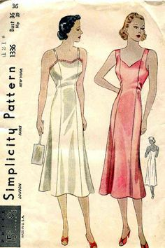 d3749437873b5 1930's undergarments on Pinterest | 1930s, Silk and Brassiere Vintage  Sewing Patterns, Fabric Patterns