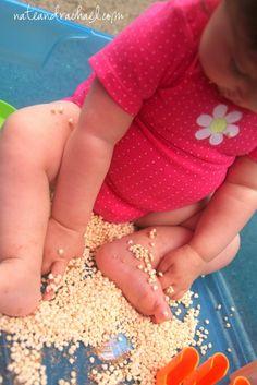 Brilliant Baby Play - Edible Sensory Play