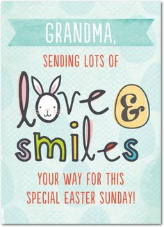 Love and Smiles - Easter Cards in Sea Glass | Magnolia Press