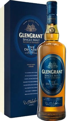 Glen Grant Five Decades Single Malt Scotch Whisky | @Caskers