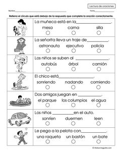 How To Learn Spanish Student Spanish Worksheets, Spanish Vocabulary, Spanish Activities, Reading Activities, French Language Learning, Dual Language, Teaching Spanish, Spanish Language, German Language