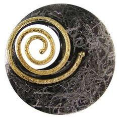 Black rhodium o gold plated 925 sterling silver by silverjewelrygr