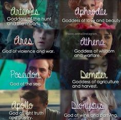 Hunger Games/Percy Jackson crossover