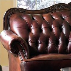 Amazon.com: Chair Button Tufted Nail Head Trim Tri Tone Leather: Furniture
