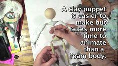 In dit filmpje wordt uitgelegd hoe je een skelet maakt voor een stopmotion pop. Michael Parks (2012)
