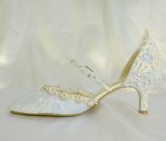 Amanda Blue  Baby Blue wedding shoes with by tlccreationsuk, $235.00