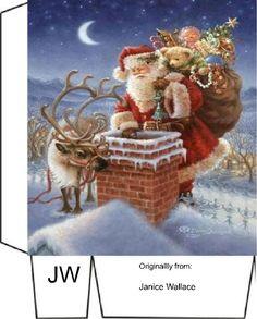 Christmas Bags, 1st Christmas, Christmas Ornaments, Christmas Ideas, Sock Snowman, Holiday Crafts, Holiday Decor, Printable Box, Paper Gift Bags