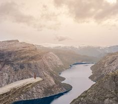Trolltunga Hike: Ultimate Hiking and Camping Guide Small Waterfall, Camping Guide, Bucket List Destinations, Norway, Countryside, Beautiful Places, Hiking, Park, Waterfalls