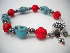 Image result for day of the dead beaded jewelry