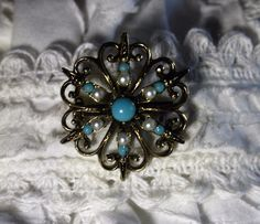 Vintage mid century brooch/stock pin. FREE shipping in the USA!