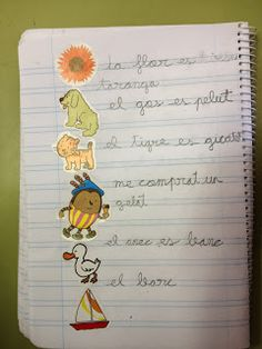 La classe de Bea : RACONS DE LLENGUA Bullet Journal, Photo And Video, Writing, Valencia, School, Frases, Texts, Phonological Awareness, Initials
