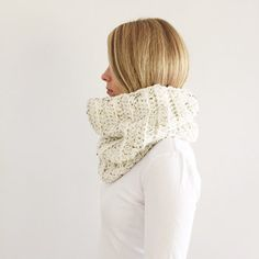 Oatmeal Infinity Scarf, Cream Cowl, Chunky infinity scarf, Natural Beige cowl, Cream snood, Fall, Winter, Ready to ship, handmade Chunky Infinity Scarves, Baby Accessories, Leg Warmers, Cowl, Fall Winter, Handmade Items, Beige, Knitting, Oatmeal