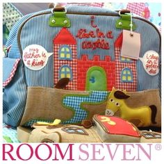 ROOM SEVEN Wickeltaschen ROOMSEVEN Room7 Room 7 Diaperbag Diaper Bag Luiertas