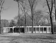 McCormick House. Chicago, Illinois. 1952. Ludwig Mies van der Rohe