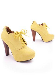 wooden heel bootie  $32.60