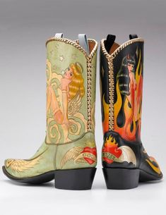 Sexy Cowgirl, Cowboy And Cowgirl, Cowgirl Boots, Western Wear, Western Boots, Custom Cowboy Boots, Urban Cowboy, Versace Shoes, Old Gringo