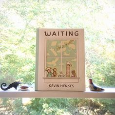 """Little Kids' Book Club #9 features """"Waiting"""" by Kevin Henkes. This week we take a break from stories about doing & focus on the art of waiting and patience."""