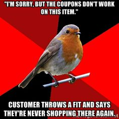 sorry, not sorry | Retail Robin