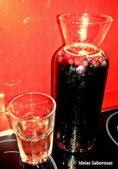 Sangria de Champanhe e Frutos Vermelhos