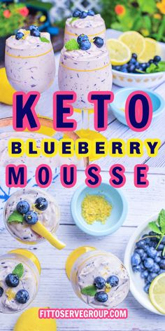 This keto blueberry mousse is a creamy, cheesecake airy dessert that is not only quick to make but also delicious! It only takes a few ingredients and no prep to make this keto-friendly, sugar-free, gluten-free, low-carb blueberry cheesecake mousse. keto blueberry cheesecake fluff| low carb blueberry cheesecake mousse |easy keto blueberry cheesecake fluff Cheesecake Fluff Recipe, Blueberry Cheesecake, Keto Cheesecake, Keto Diet For Beginners, Few Ingredients, Keto Snacks, Recipe Collection, Low Carb Recipes, Mousse