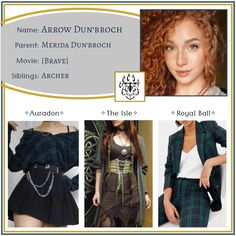 """Descendants OCs on Instagram: """"Arrow ✧ Daughter of Merida •••••••••••••••••••••••••••••••••••••••••••••• Feel free to use this character however you like - just please…"""" Cute Disney Outfits, Disney Themed Outfits, Movie Outfits, Movie Inspired Outfits, Fandom Outfits, Cute Outfits, My Fantasy World, Disney Descendants, Disney Fan Art"""