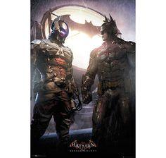 Batman Poster Arkham Knight & Batman. Hier bei www.closeup.de