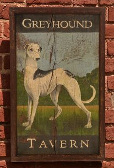 Antique Signs, How To Antique Wood, Vintage Signs, Vintage Posters, Pub Signs, Wood Signs, Painted Signs, Hand Painted, Painted Wood
