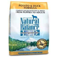Natural Balance Dry Dog Food, Grain Free Limited Ingredient Diet Duck and Potato Formula, 15 Pound Bag @@@ You can click on the image for additional details. (This is an affiliate link and I receive a commission for the sales)