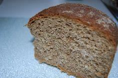 Seeded Gluten Free Sourdough Bread == Baking Magique, try this Pan Dukan, Gluten Free Sourdough Bread, Dessert Blog, Sandwich Bread Recipes, Homemade Sandwich, Best Banana Bread, White Bread, Croissants, Bread Baking