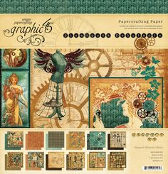 Steampunk Debutante - a collection that gears for greatness! #graphic45