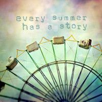 every summer has a story Stretched Canvas