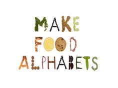 From Food Font!  http://www.kickstarter.com/projects/kbaumlier/food-font
