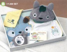 totoro gift set foot toy set