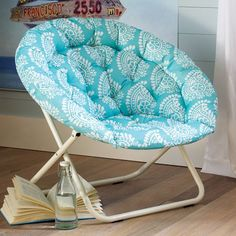 Teen Room Chairs hang-a-round chair - pool pb teen. lizzie's favorite color