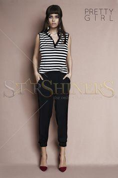 PrettyGirl Juncture Black Trousers