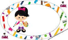 Olá queridos amigos ( as ) e seguidores do nosso Blog . Hj temos mais um Kit feito especialmente por mim ( Gabi Bonfim )p ajudar a colori... Art Themed Party, Art Party, Party Themes, 3d Cards, School Notes, Head Start, Art Classroom, True Colors, Kindergarten