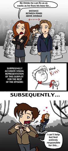 DW SPOILERS: Love in the Time of Daleks by *blackbirdrose on deviantART