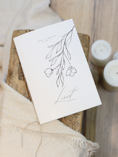 Orchid Bouquet Wedding, Tamarin, Carton Invitation, Orchids, Place Cards, Place Card Holders, Collection, Wedding Booklet, Tape