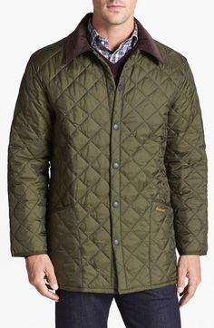 Barbour 'Liddesdale' Quilted Jacket. Every man should own one. Check out more of the good life at www.hunterandsons.com.