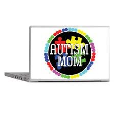Autism Mom Laptop Skins for
