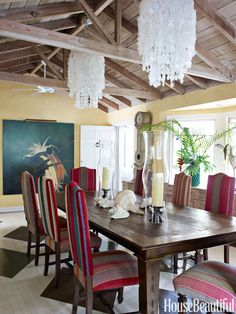 The ONE Quick Change That Will Transform Your Dining Room  - HouseBeautiful.com