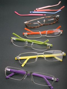 2d91c490df Pantone Themed Accessories for Graphic Designers. Andrea Fennell · funky  glasses