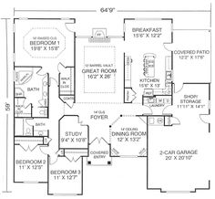 heronlanding floor plan floor plans Pinterest House plans