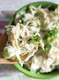 Skinny Slow Cooker Creamy Chicken- not clean but sounds good- maybe some cream or half and half instead