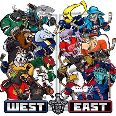 2016 NHL Playoff Teams