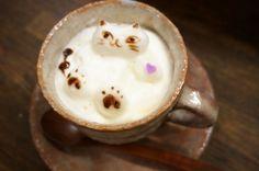 【猫好きさん必見!】ニャートな3Dラテアートに心が踊る、押上の隠れ家カフェ - みんなのごはん