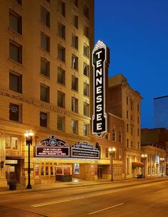 Knoxville's Historic Tennessee Theatre