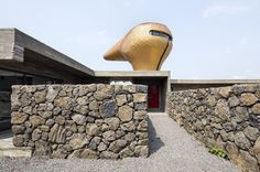 Wind House in Jeju by Moon Hoon